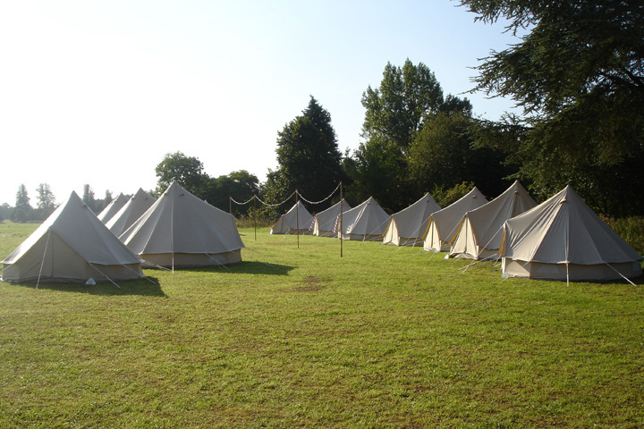 bell tent hire marlmsbeery