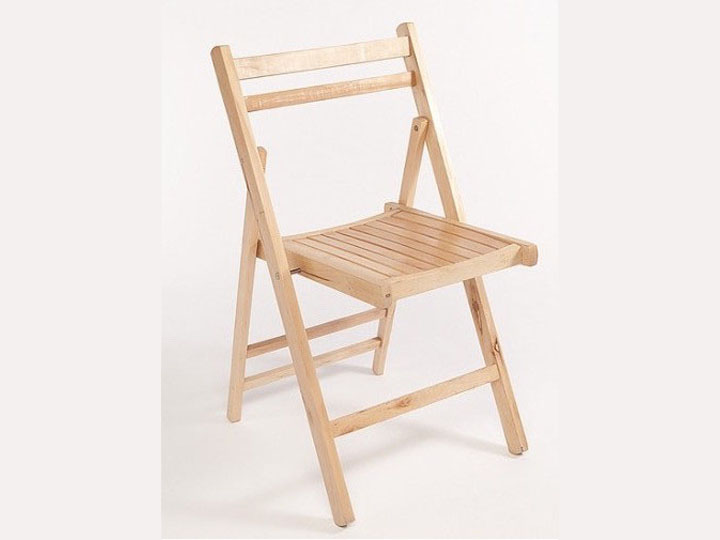Marquee furniture hire - Folding wooden chairs