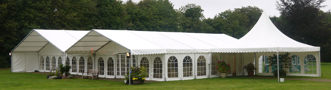 The specific type of tent you'll need for your event depends on several things such as the number of guests, the location, the kind of event, etc.
