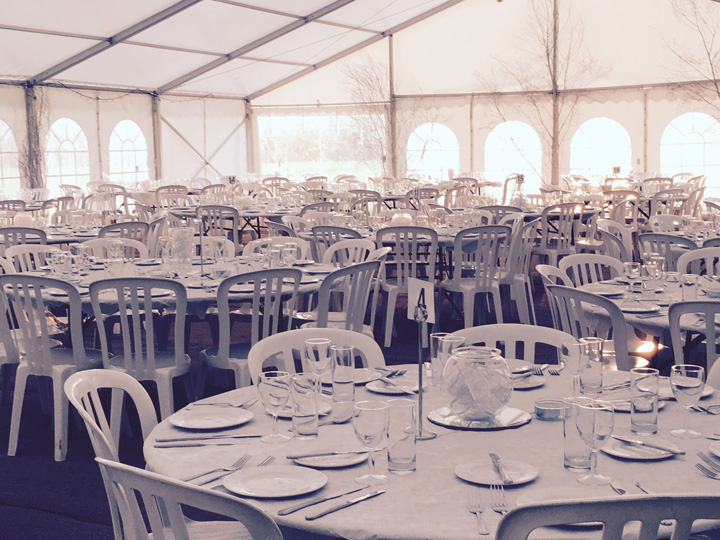 Marquees hire Cotswolds Glos
