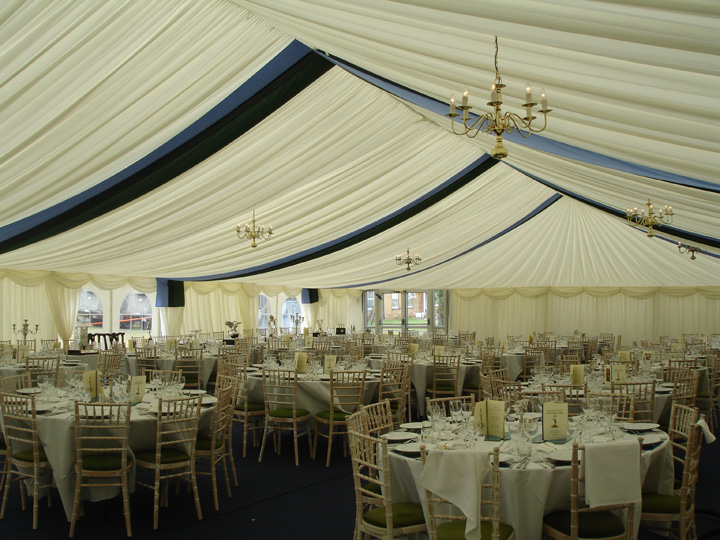 Dinner party marquees
