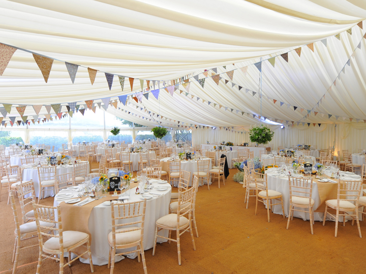 Wedding marquees with dance floors