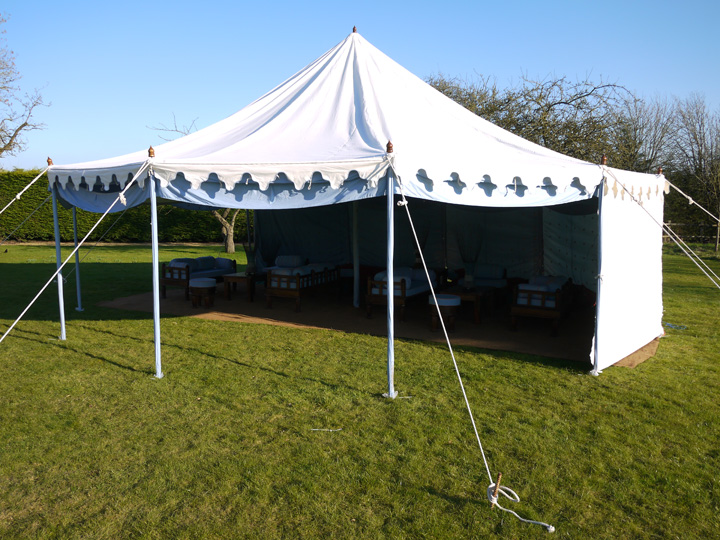 Marquees for lunch parties