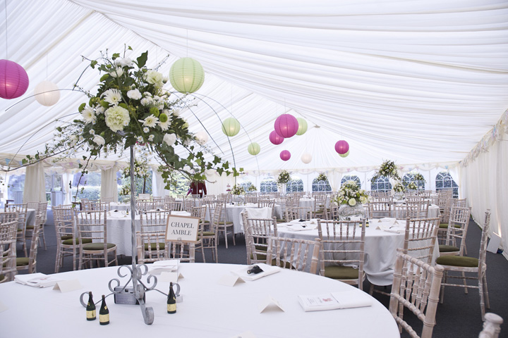 Cotswolds wedding marquees