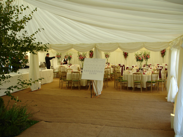 Marquees for weddings Wiltshire