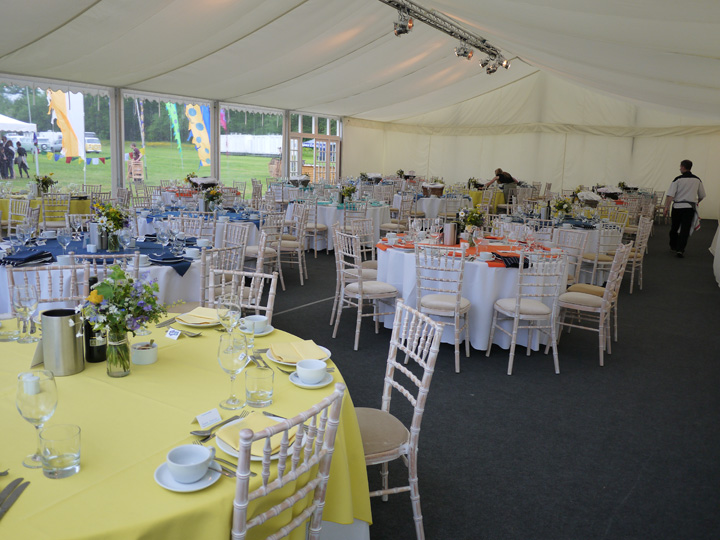 Festival marquees to hire