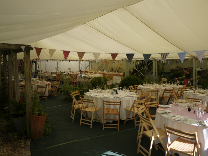Furniture for marquees